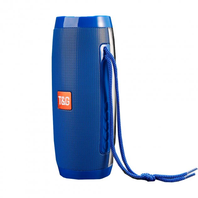 Bluetooth-колонка с LED подсветкой TG-157, Мощностью 10W, Аккумулятор 1200mAh Синий - изображение 1