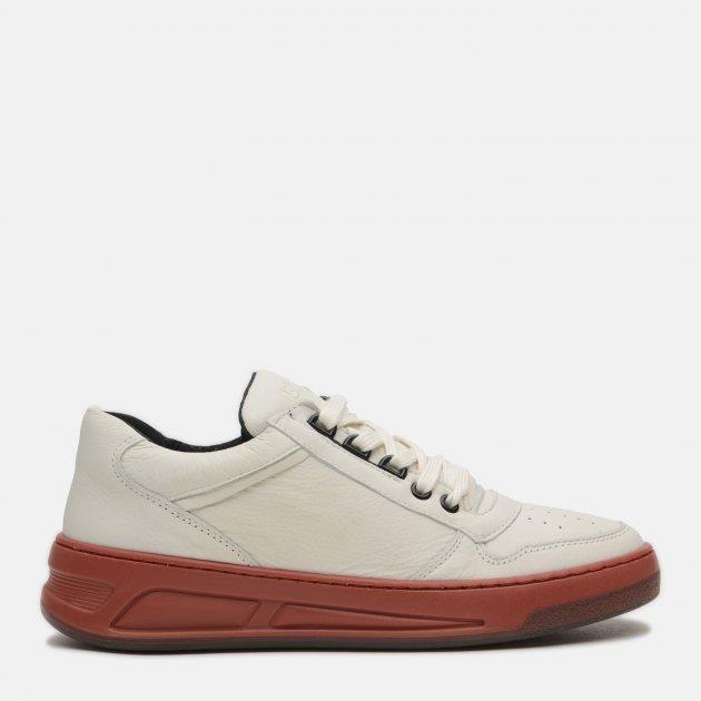 Кросівки Bronx 66330-G3253 36 23.9 см Білі з коричневим (8719753353302) - зображення 1