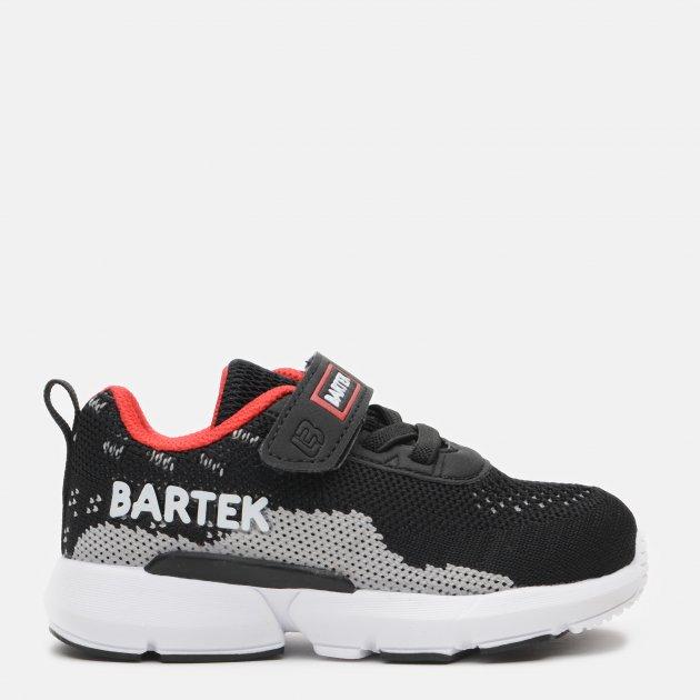 Кроссовки Bartek T-11288004 23 (15.2 см) Черные (5903607636823) - изображение 1