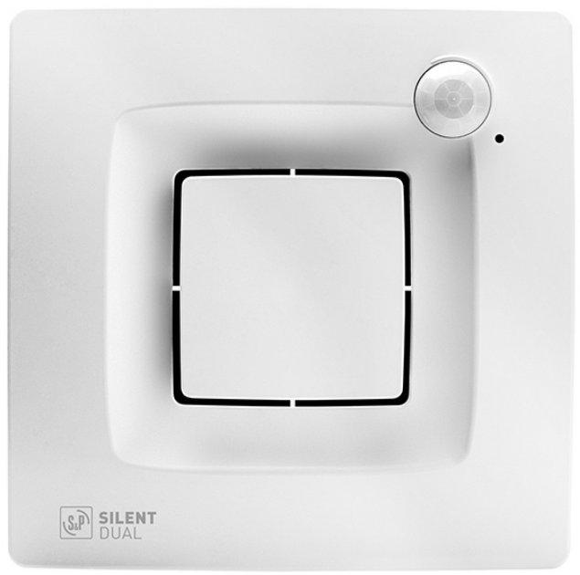 Вытяжной вентилятор SOLER&PALAU SILENT DUAL 200 с таймером, датчиком движения и влажности - изображение 1