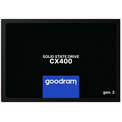 """Накопичувач SSD 2.5"""" 256GB GOODRAM (SSDPR-CX400-256-G2) - зображення 1"""