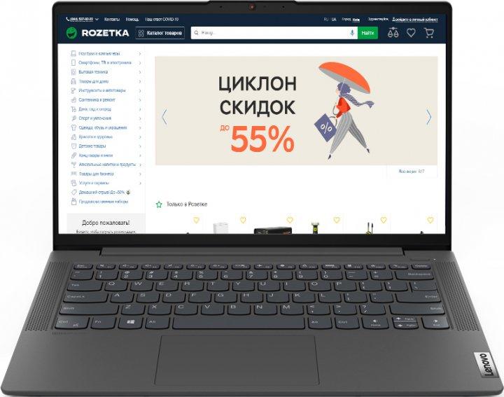 Ноутбук Lenovo IdeaPad 5 14ARE05 (81YM00F2RA) Graphite Grey - зображення 1