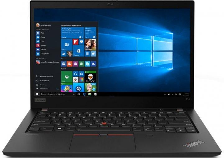 Ноутбук Lenovo ThinkPad T14 Gen 2 (20W0004NRA) Black - зображення 1