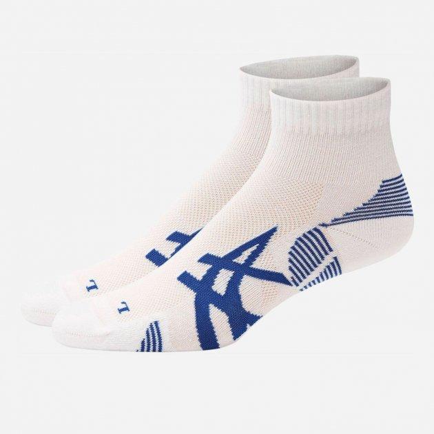 Набор носков Asics 2Ppk Cushioning Sock 3013A238-100 35-38 (I) 2 пары Белый (8718837145635) - изображение 1