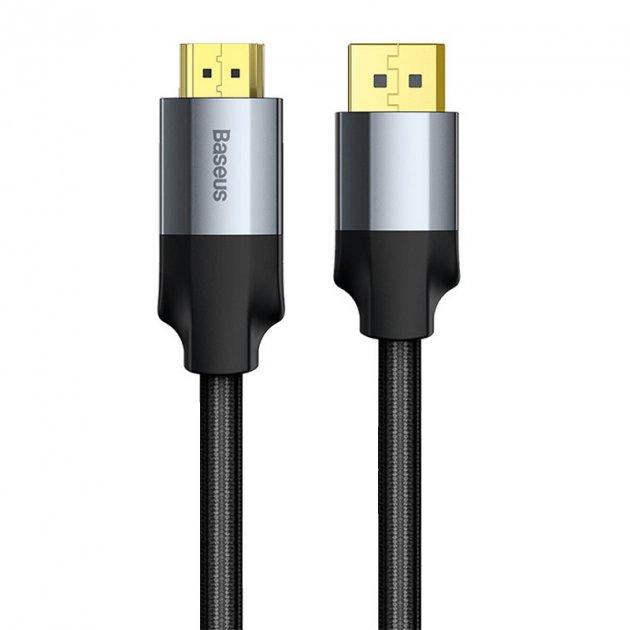Дата кабель Baseus HDMI Enjoyment Series 4KHD Male To 4KHD Male (1m) Черный - изображение 1
