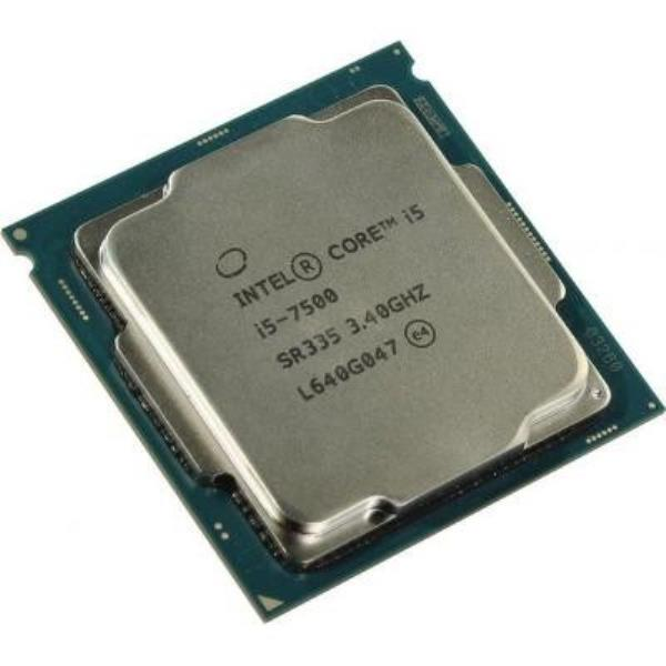 Процессор Intel Core i5-7500 (S1151/4x3.4GHz/8GT/s/6MB/65 Вт/BX80677I57500) Б/У - изображение 1