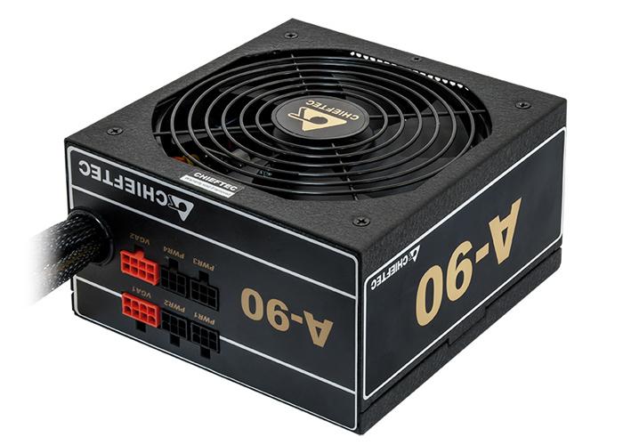 Блок живлення 750 Вт Chieftec, 24+4+4 pin, живлення відеокарти - 2x(6+2pin), 120 мм, ATX, GDP-750C БУ - зображення 1
