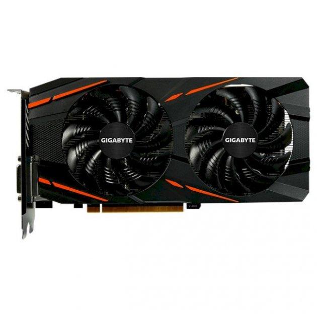 Видеокарта GIGABYTE Radeon RX 470 4GB GDDR5 256-bit WindForce 2X G1 Gaming OC (GV-RX470G1 GAMING-4GD) Б/У - зображення 1