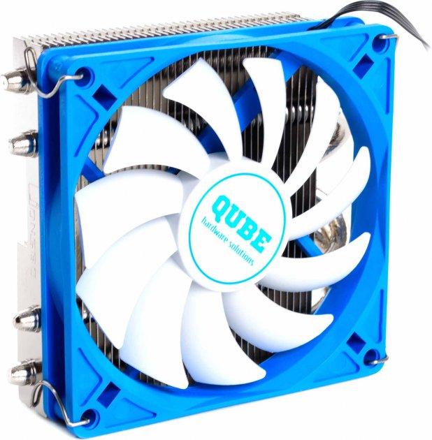 Кулер QUBE QB-OL400 Blue - зображення 1