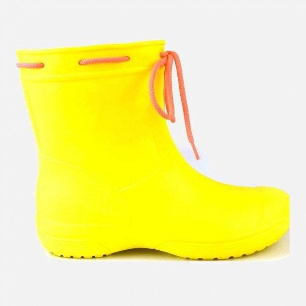 Резиновые сапоги Jose Amorales 119210 36 (23 см) Желтые (2201192103601) - изображение 1
