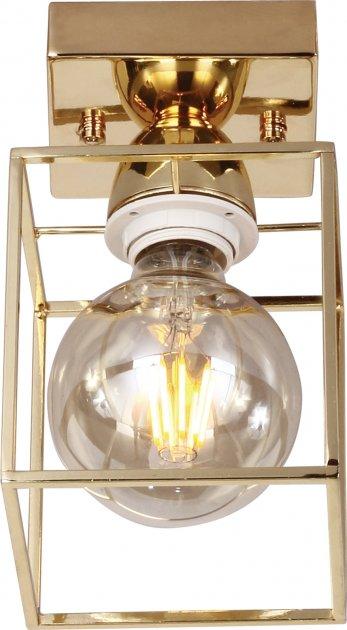 Настінно-стельовий світильник Wunderlicht Е27 1х40 W WLC3282-1K58G - зображення 1