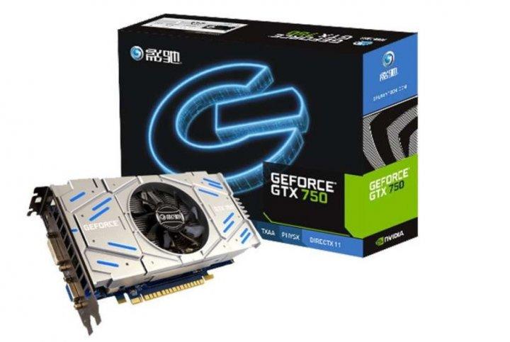 Видеокарта Galax GeForce GTX750 2Gb GDDR5 128bit (GTX750 2GD5) - изображение 1