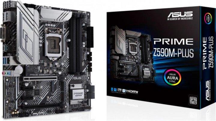 Материнская плата Asus Prime Z590M-Plus Socket 1200 - зображення 1