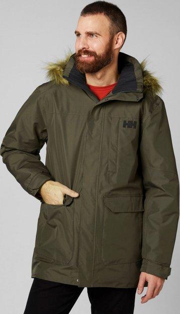 Куртка Helly Hansen Dubliner Parka 54403-482 XXL Beluga (7040055676839) - изображение 1