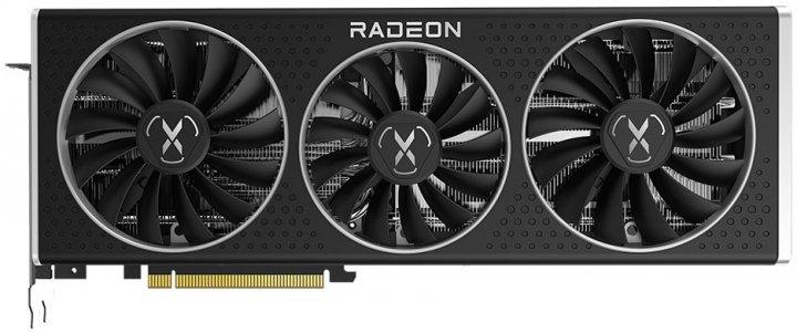 XFX PCI-Ex Radeon RX 6800 QICK 319 Black Gaming 16GB GDDR6 (256bit) (2190/16000) (HDMI, 3 x DisplayPort) (RX-68XLALBD9) - изображение 1