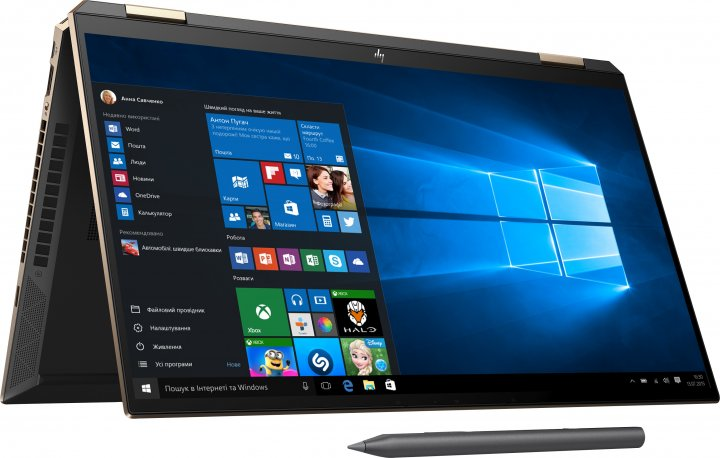 Ноутбук HP Spectre x360 Convertible 15-eb1000ur (2X0Y5EA) Nightfall Black - зображення 1