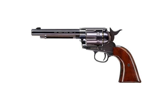 """Пістолет пневматичний Umarex Colt SAA .45-5.5"""" BB Blue (5.8308) - зображення 1"""
