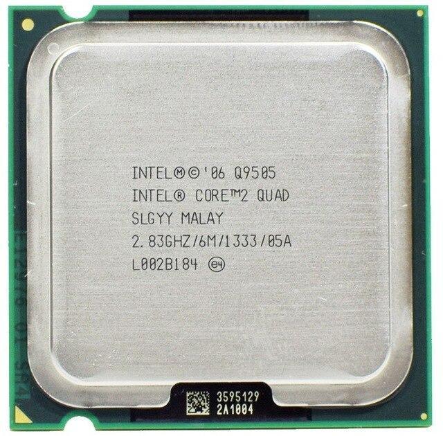 Процессор Intel Core 2 Quad Q9505 2.83GHz/6M/1333 (SLGYY) s775, tray - изображение 1