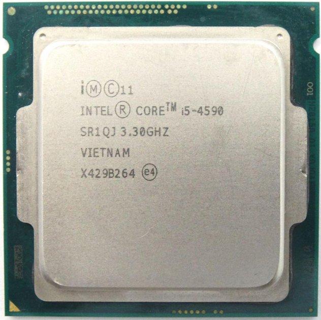 Процесор Intel Core i5-4590 3.30 GHz/6MB/5GT/s (SR1QJ) s1150, tray - зображення 1
