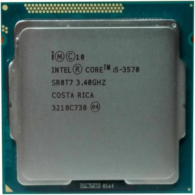 Процесор Intel Core i5-3570 3.40 GHz/6MB/5GT/s (SR0T7) s1155, tray - зображення 1