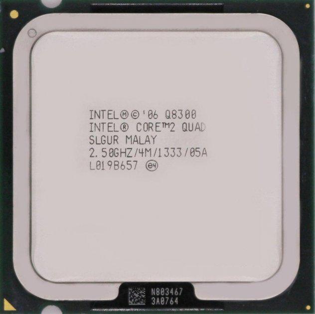 Процесор Intel Core 2 Quad Q8300 2.50 GHz/4M/1333 (SLGUR) s775, tray - зображення 1