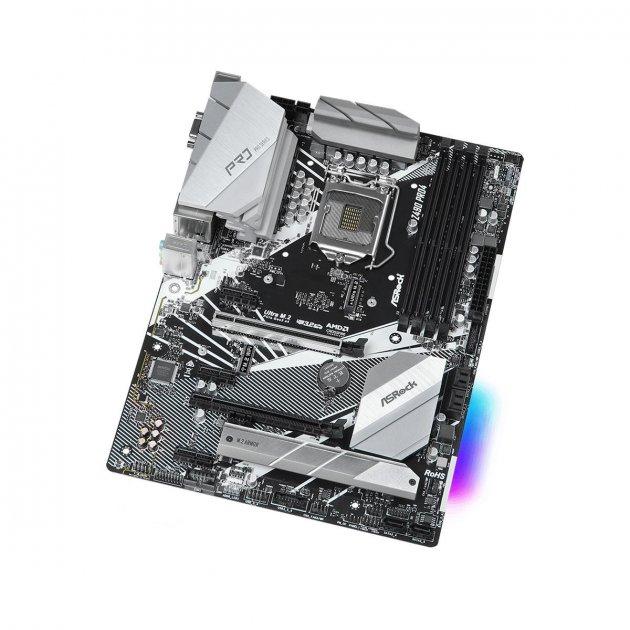 Материнська плата AsRock Z490 Pro4 (s1200, Intel Z490, PCI-Ex16) - зображення 1