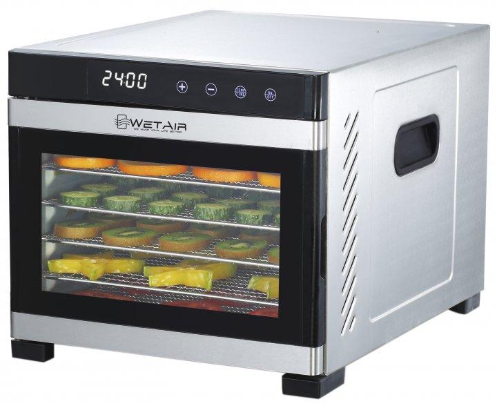 Сушилка для овощей и фруктов WetAir WFD-K650S - изображение 1