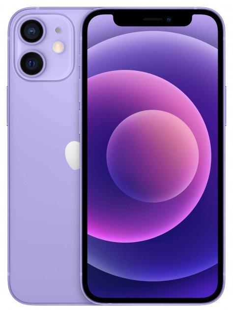 Мобильный телефон Apple iPhone 12 mini 128GB Purple Официальная гарантия - изображение 1