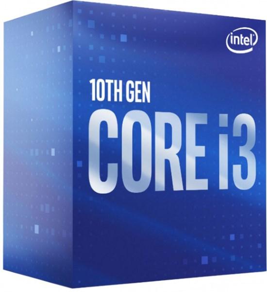 Процесор CPU Core i3-10100 4-CORE 3,60-4.30 Ghz/6Mb/s1200/14nm/65W Comet Lake (BX8070110100) s1200 BOX - зображення 1