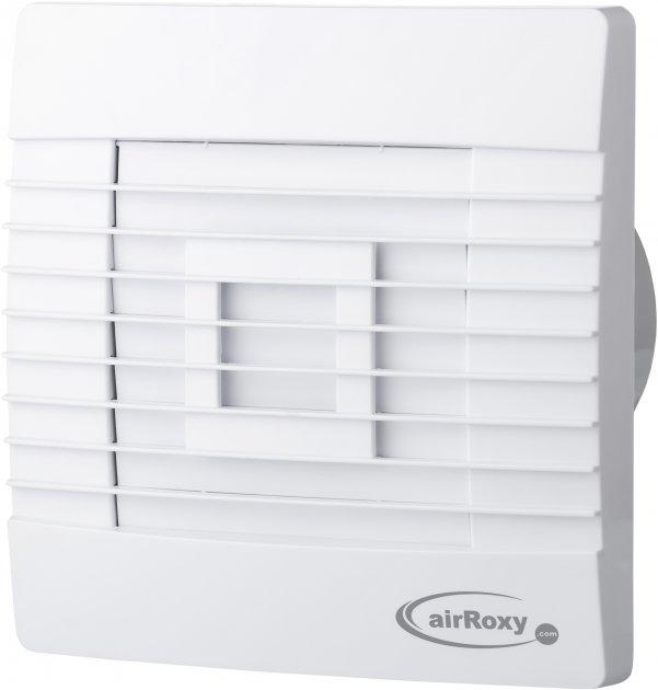 Вытяжной вентилятор AirRoxy pRestige 120 ZG TS с таймером и гравитационными жалюзи - изображение 1