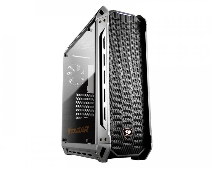 Корпус Cougar Panzer-S, Middle Tower, Mini ITX / Micro ATX / ATX / CEB, 208 x 565 x 520 мм - зображення 1