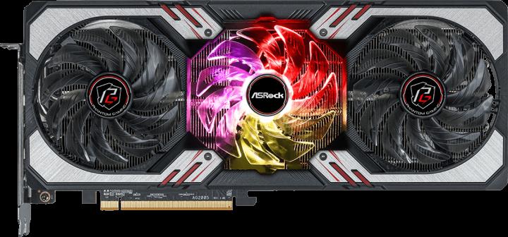 ASRock PCI-Ex Radeon RX 6700 XT Phantom Gaming D 12GB OC 12GB GDDR6 (192bit) (2622/14000) (HDMI, 3 x DisplayPort) (RX6700XT PGD 12GO) - зображення 1