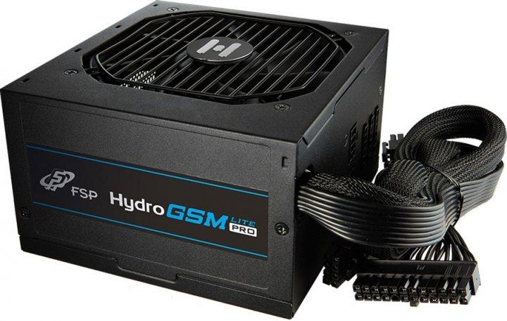 FSP Hydro GSM Lite PRO HGS-650M 80+ Gold 650W (HGS-650M) - изображение 1
