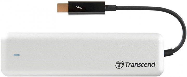 Transcend JetDrive 855 240GB M.2 Thunderbolt PCIe 3.0 x4 3D NAND TLC для Apple (TS240GJDM855) - зображення 1
