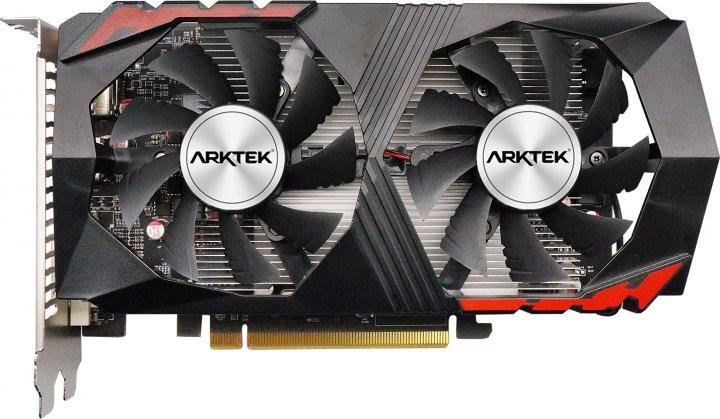 Arktek PCI-Ex GeForce GTX 1050 Ti Dual Fan 4GB GDDR5 (128bit) (1290/7000) (DVI, HDMI, DisplayPort) (AKN1050TID5S4GH1) - изображение 1