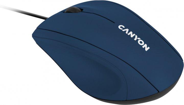 Мышь Canyon M-05 USB Blue (CNE-CMS05BL) - изображение 1