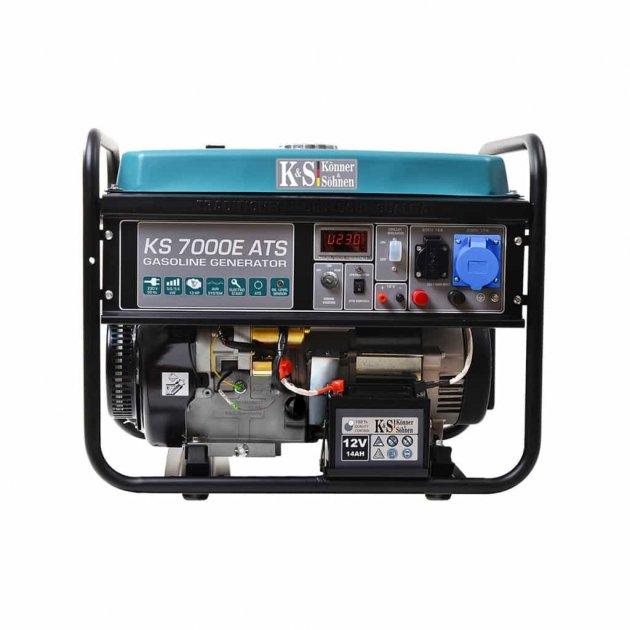 Бензиновый генератор Konner & Sohnen KS 7000E ATS (5.5кВт) - изображение 1