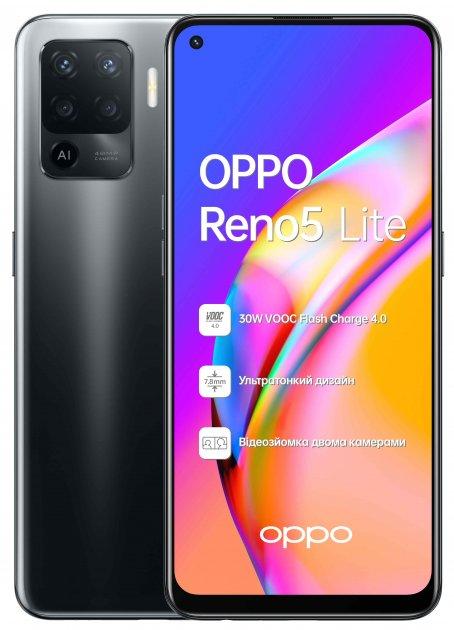 Мобильный телефон OPPO Reno5 Lite 8/128GB Black - изображение 1