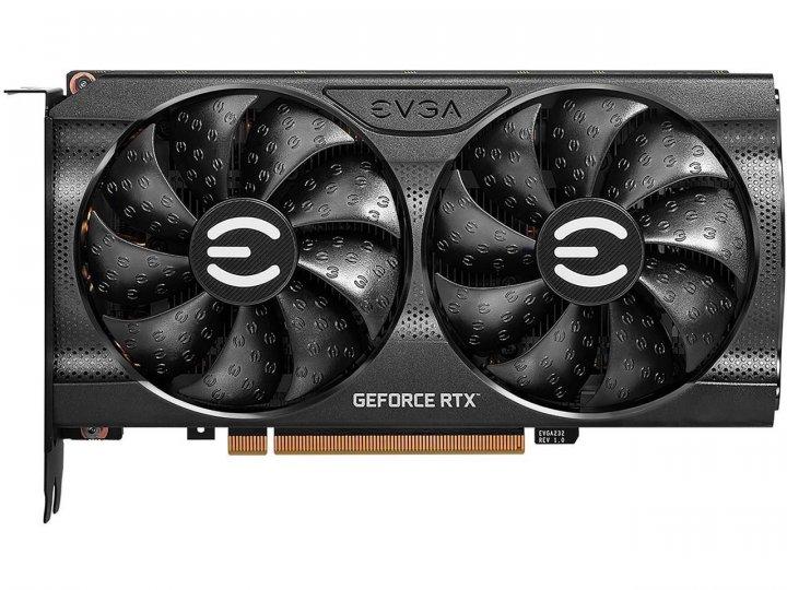 EVGA PCI-Ex GeForce RTX 3060 XC GAMING 12G GDDR6 (192bit) (1882/15000) (HDMI, 3 x DisplayPort) (12G-P5-3657-KR) - зображення 1