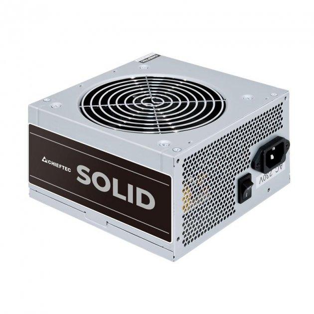 Блок живлення Chieftec GPP-400S, ATX, APFC, 12cm fan, ККД >85%, bulk - зображення 1