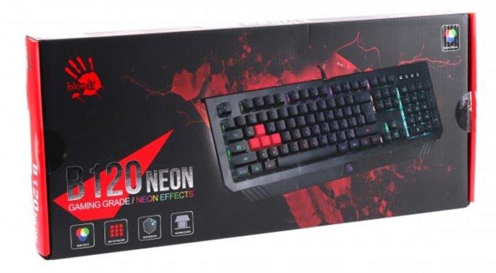Клавиатура A4Tech Bloody B120N Black USB - изображение 1