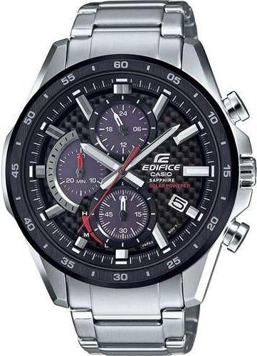 Чоловічі наручні годинники Casio EFS-S540DB-1AUEF - зображення 1
