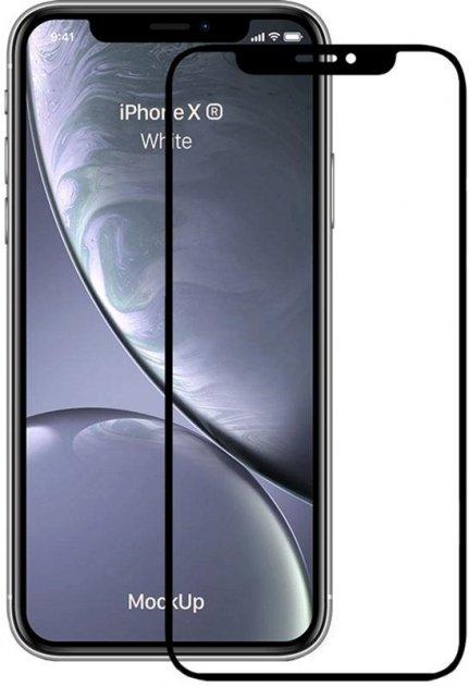 Защитное стекло TOTO для Apple iPhone Xr/11 Black (FSH56286) - изображение 1