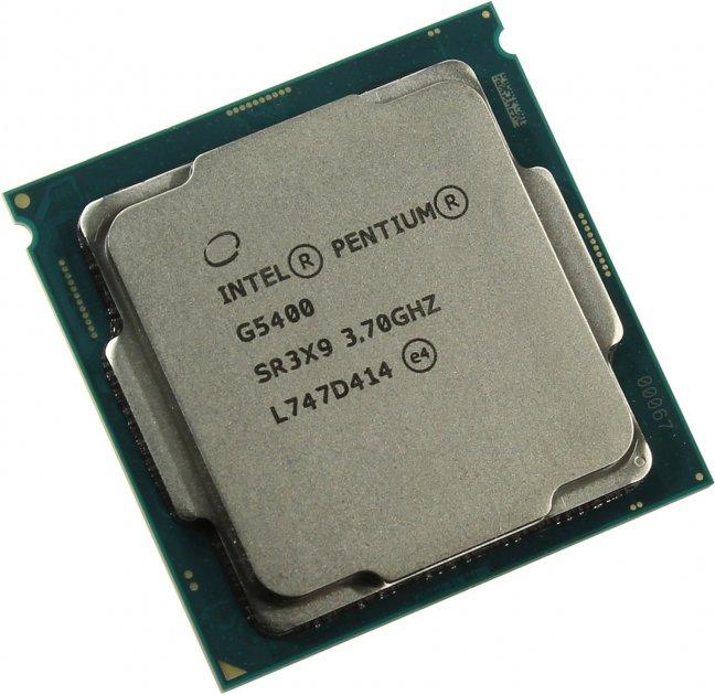 Процесор INTEL Pentium Gold G5400 3.7 GHz s1151 Tray CM8068403360112 - зображення 1