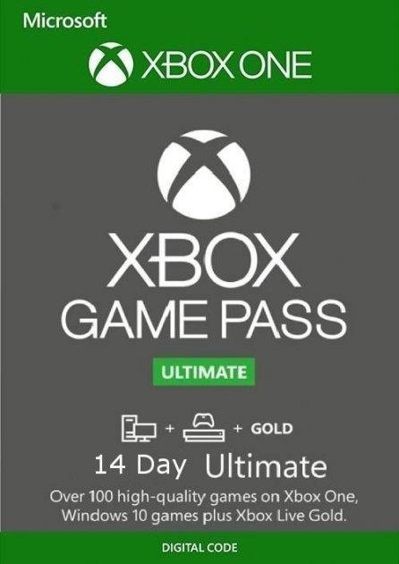 Xbox Game Pass Ultimate - 14 днів (Xbox One/Series и Windows 10) підписка для всіх регіонів і країн - зображення 1