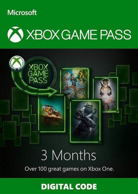 Xbox Game Pass - 3 місяці Xbox One / Series підписка для всіх регіонів і країн - зображення 1