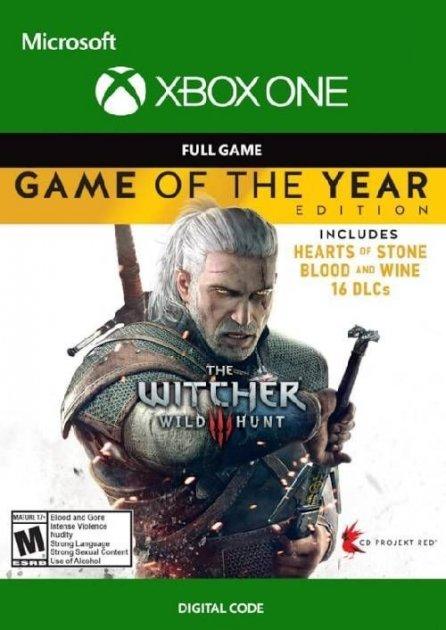 «Ведьмак 3: Дикая Охота» - издание «Игра года» карта оплаты для Xbox One - изображение 1