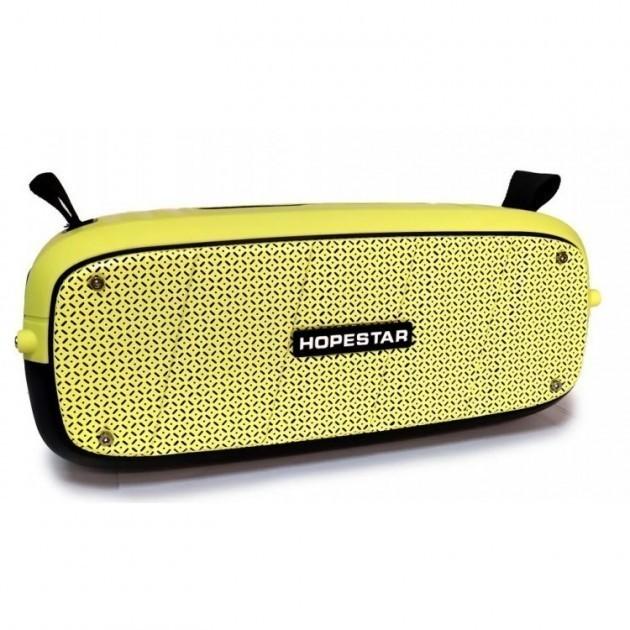 Портативна колонка Hopestar A20 PRO (55W) Bluetooth Акустична стерео система з функцією TWS + мікрофон Yellow - зображення 1