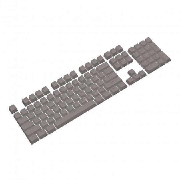Набор кейкапов PBT ANSI / ISO ENG Grey (KC-006) - изображение 1
