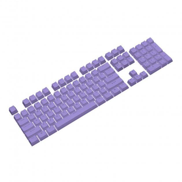 Набор кейкапов PBT ANSI / ISO ENG Purple (KC-003) - изображение 1